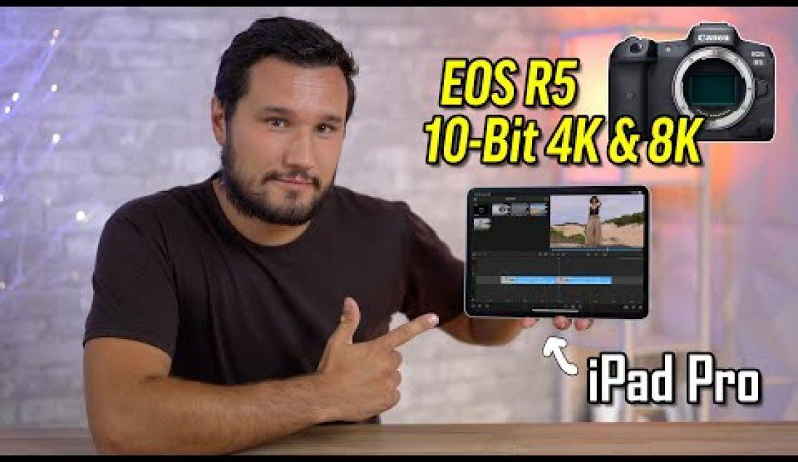 טיפים לעבודת פוסט עם  קובצי EOS R5 או EOS R6
