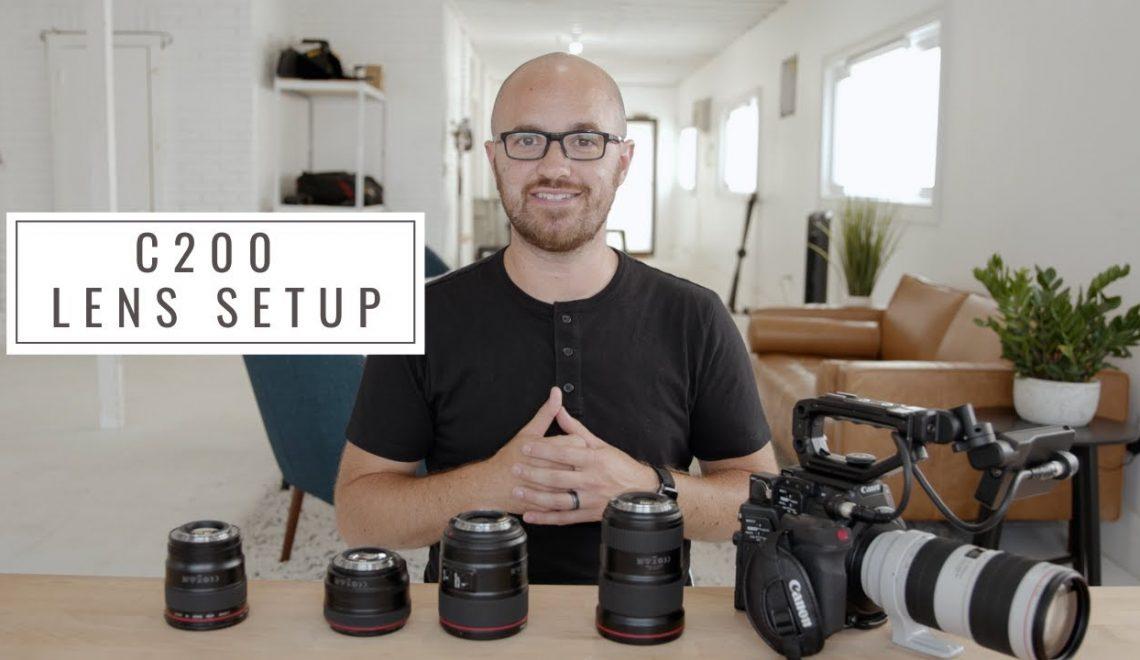 חמש עדשות מומלצות לשימוש עם מצלמת EOS C200
