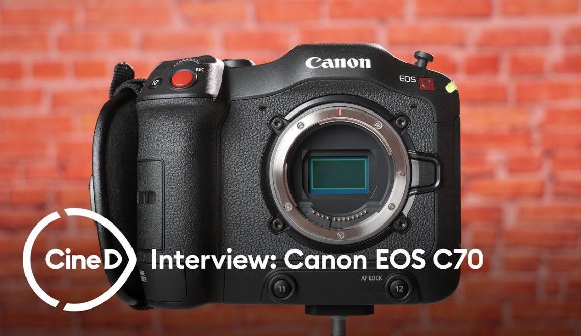 ראיון עם אנשי קנון לגבי המצלמה החדשה
