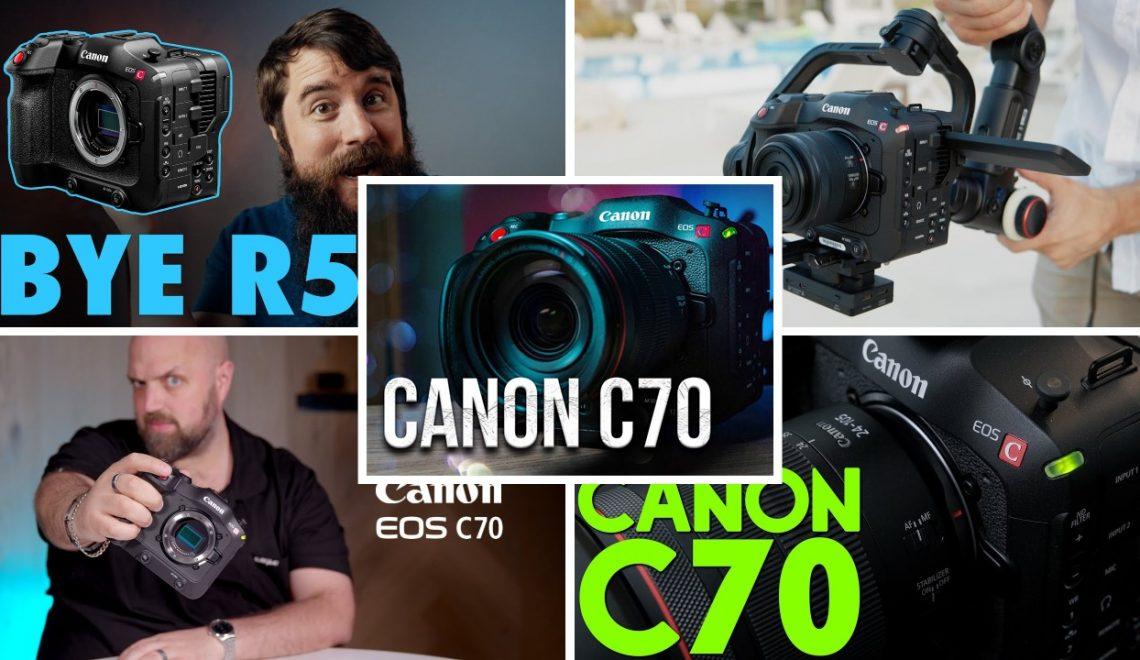 סקירות של המצלמה החדשה EOS C70