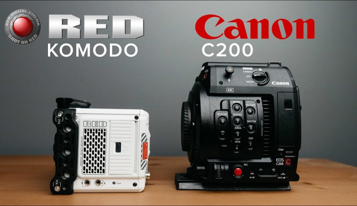השוואה בין Komodo ל EOS C200