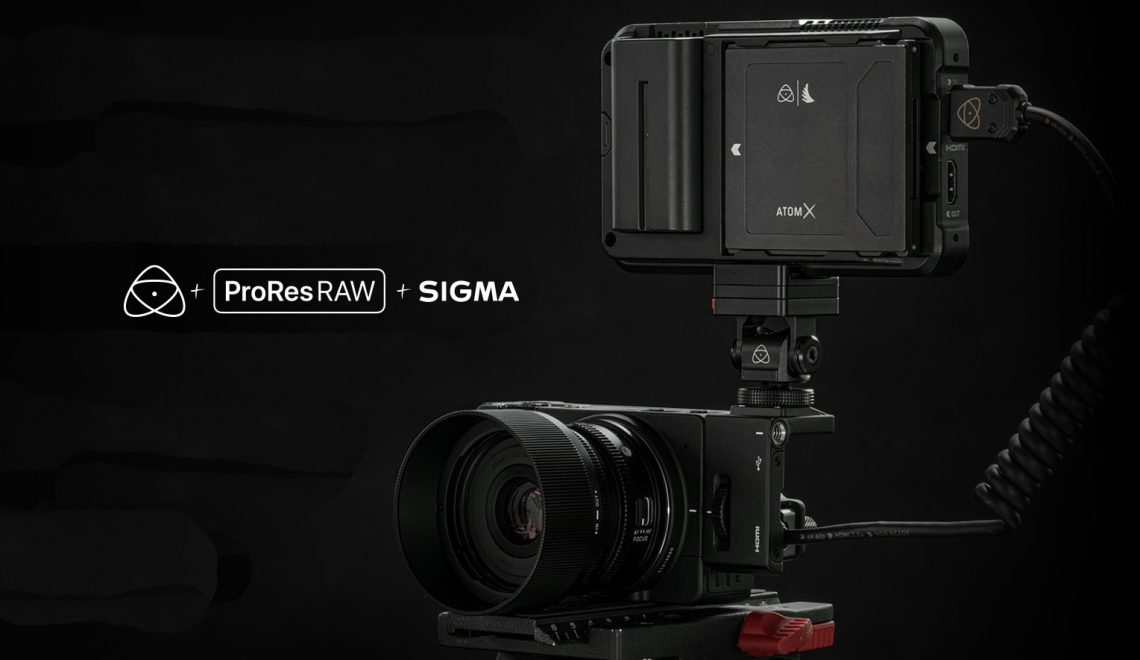הקלטת ProRes RAW ממצלמות אולימפוס
