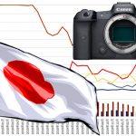 שוק מצלמות ללא מראה ביפן