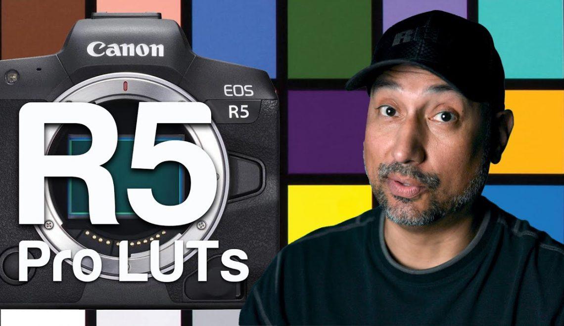 ערכת לוחות צבע ל EOS R5