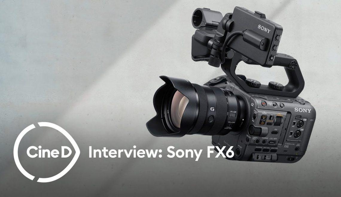 ראיון עם אנשי סוני לגבי PXW-FX6