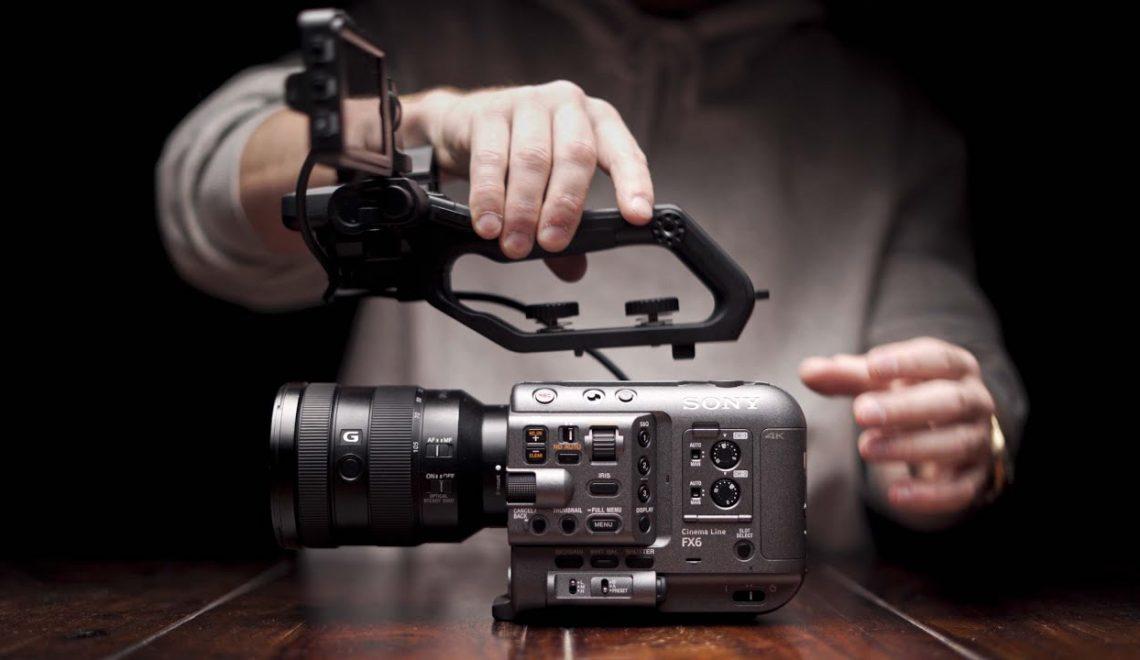 סקירה ומאחורי הקלעים עם PXW-FX6