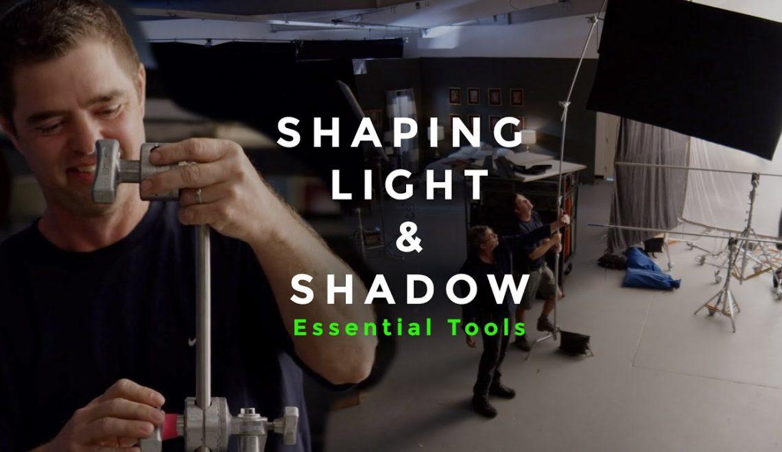 כלים לעיצוב תאורה וצללים