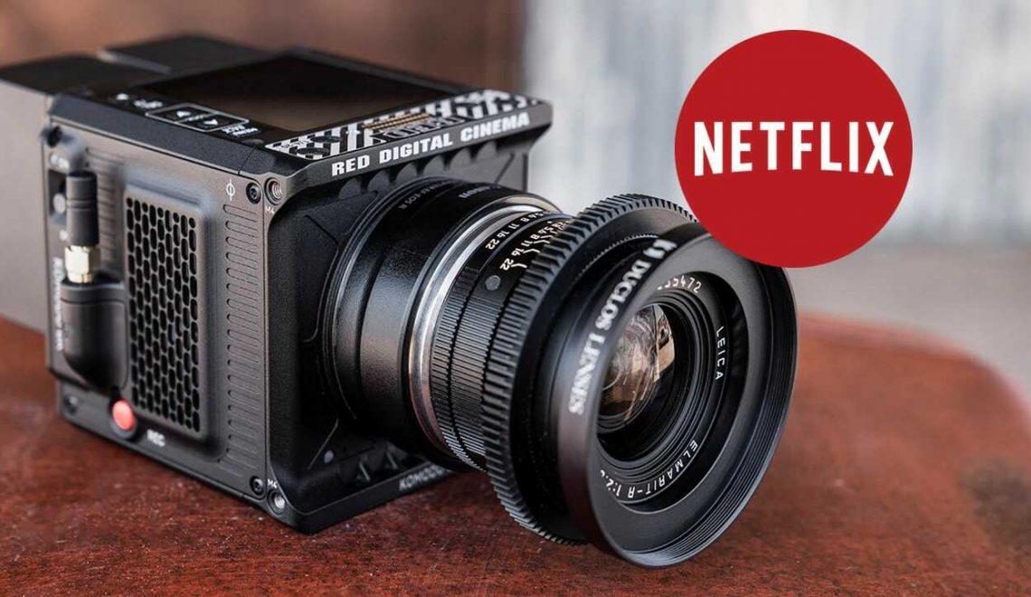 חברת נטפליקס אישרה את מצלמת Komodo