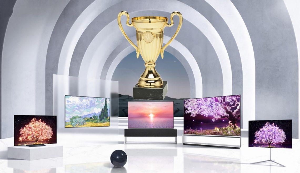 חברת LG זכתה ביותר 190 פרסים בCES