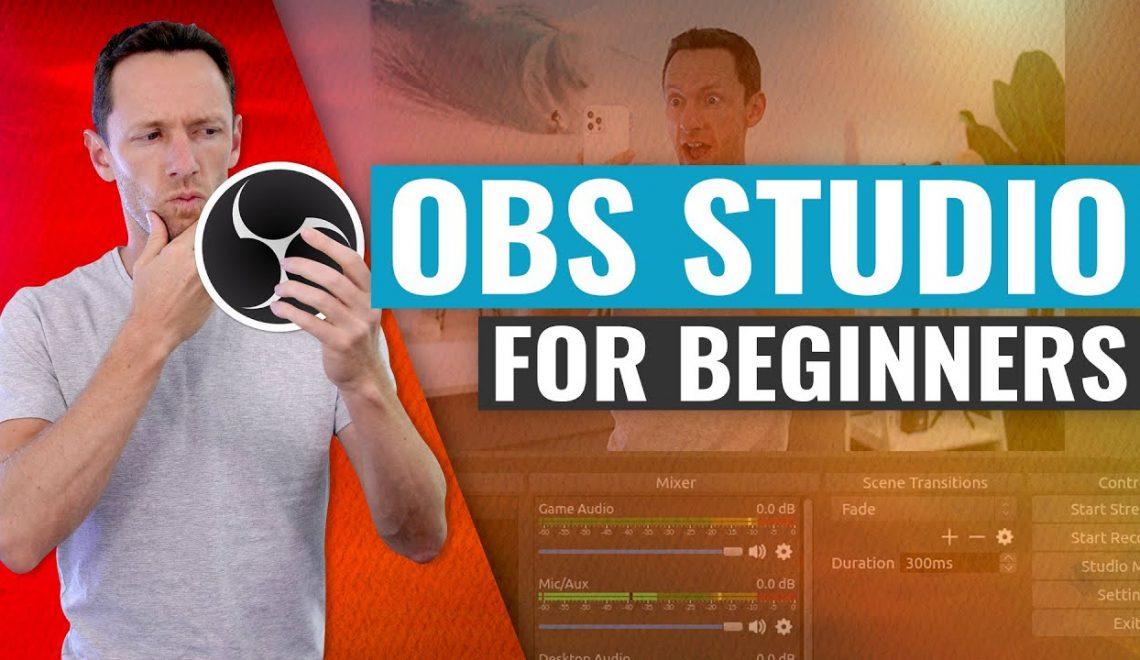 כיצד להשתמש בתוכנת ההזרמה OBS Studio