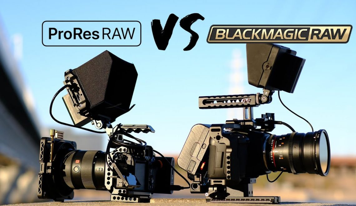 השוואה בין ProRes RAW ל BlackMagic RAW
