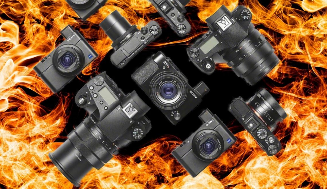 עיכוב בהשקת מצלמות סוני בגלל שריפה