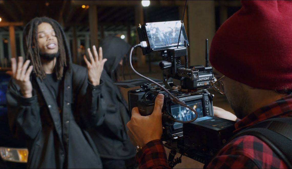 מאחורי הקלעים של צילום קליפ