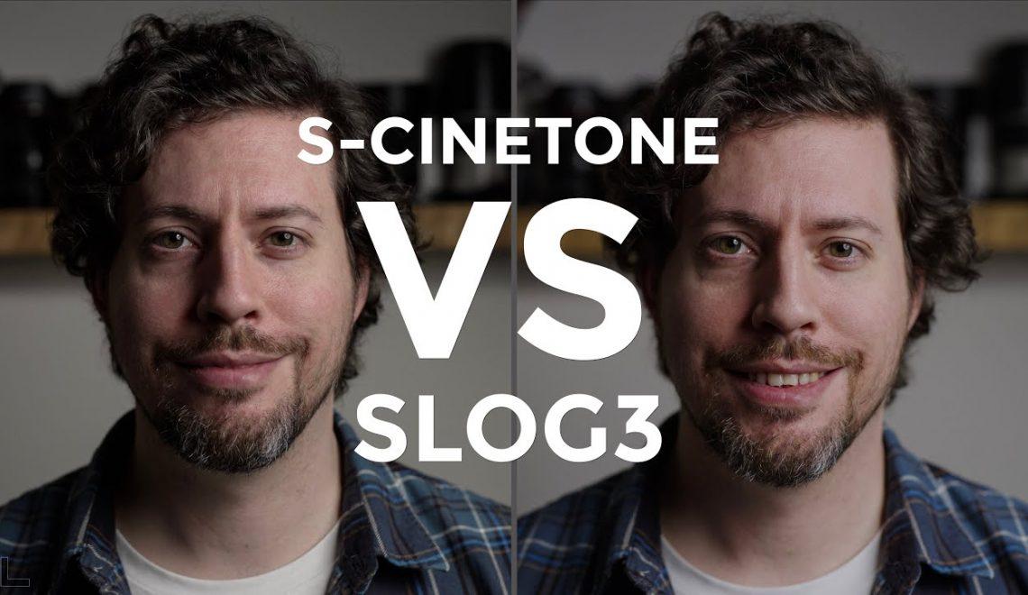השוואה בין S-Cinetone ל- S-Log3