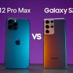 השוואה בין איפון 12 לגלקסי S21