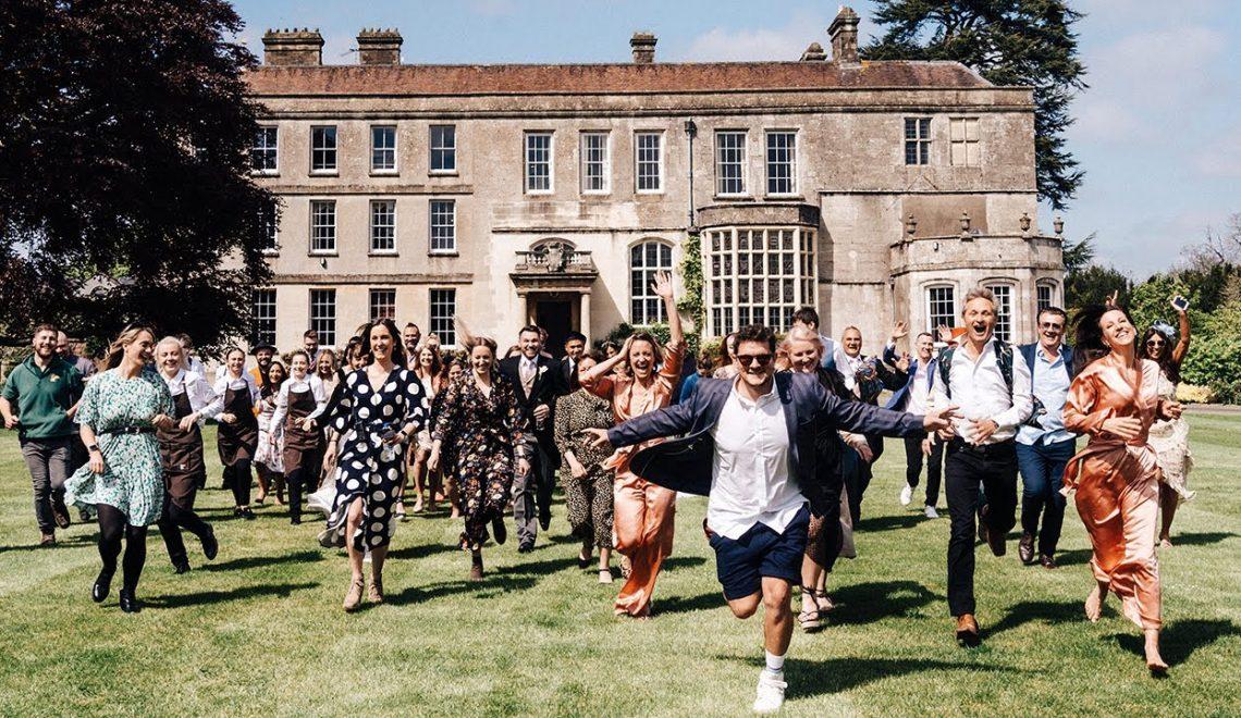 צילום עם רחפן FPV בחתונה