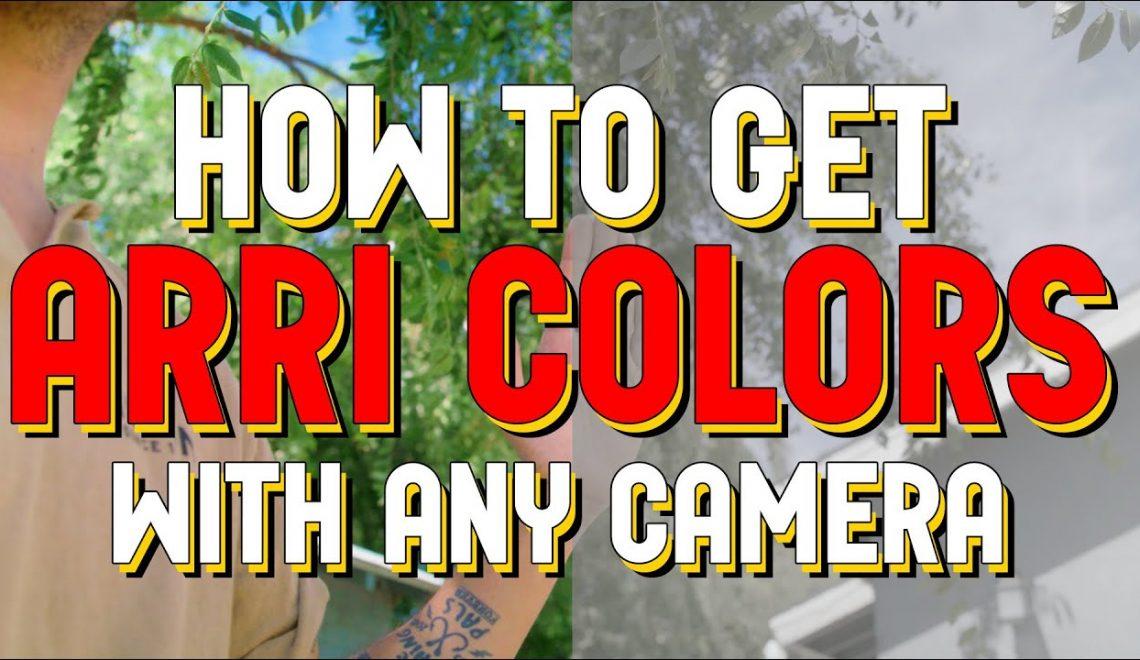 צבעים כמו של Arri