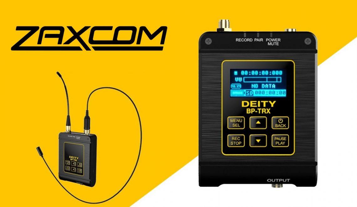 שיתוף פעולה בין Deity ו- Zaxcom