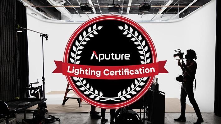 קורס הסמכה לתאורה של Aputure