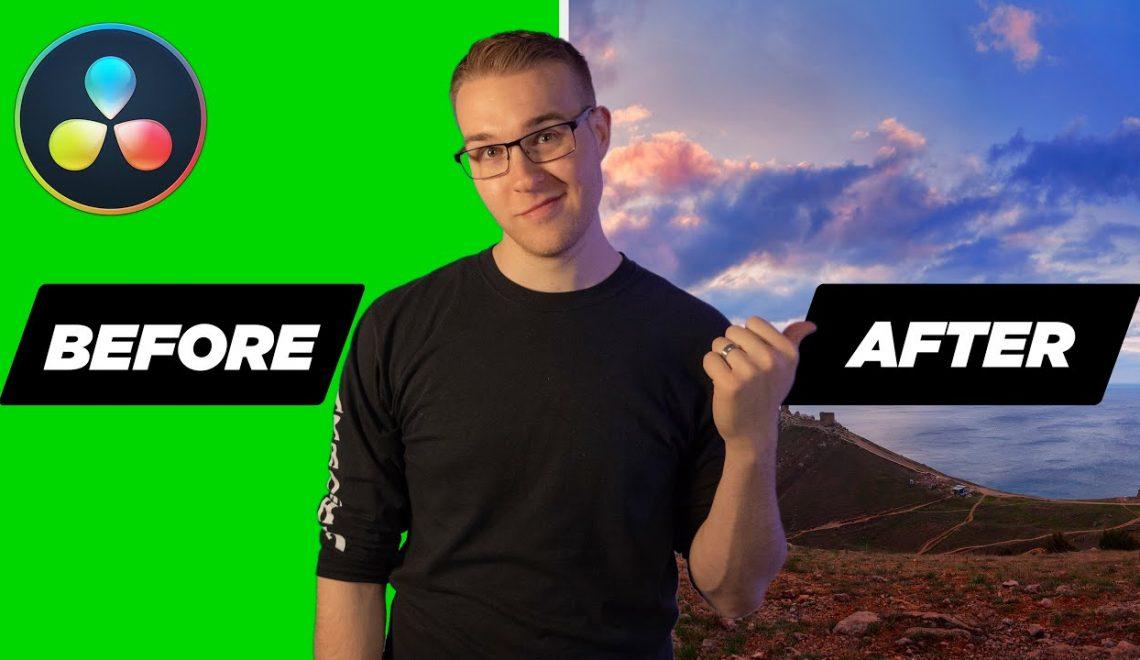 שתי דרכים לחיתוך מסך ירוק