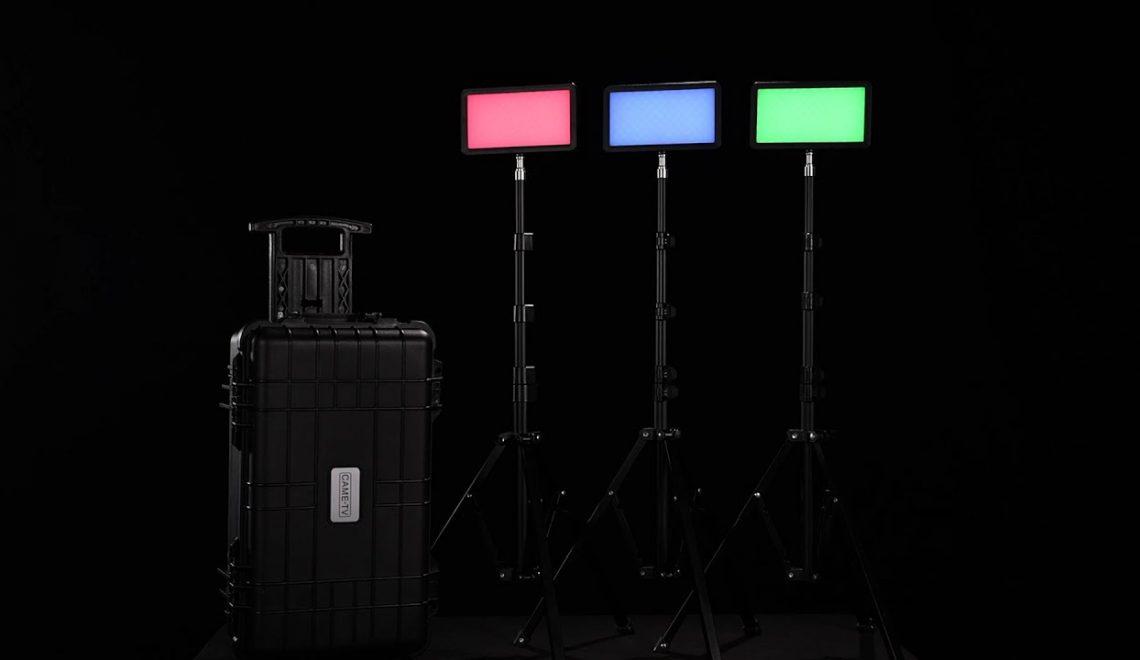 ערכת תאורה ניידת של CAME-TV