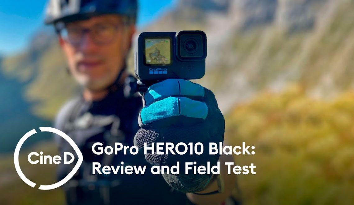 סקירה ובדיקת שטח ל HERO 10 Black