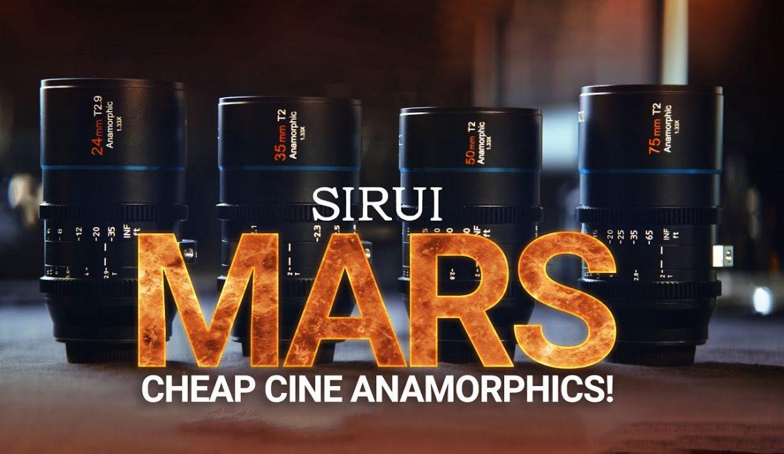 סקירה של עדשות אנמופריות של Sirui