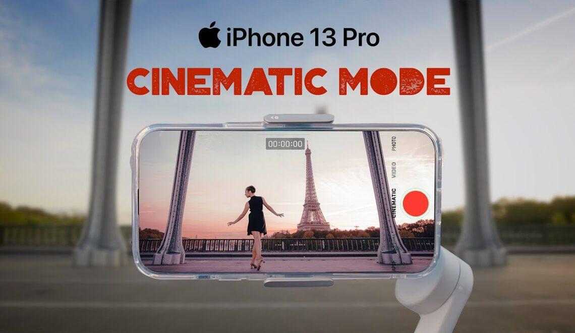 שימוש במצב קולנוע באיפון 13
