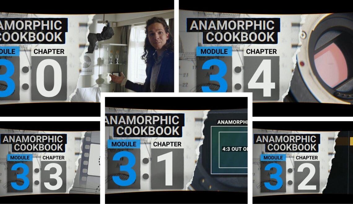 אנמורפיק Cookbook – פרק שלישי
