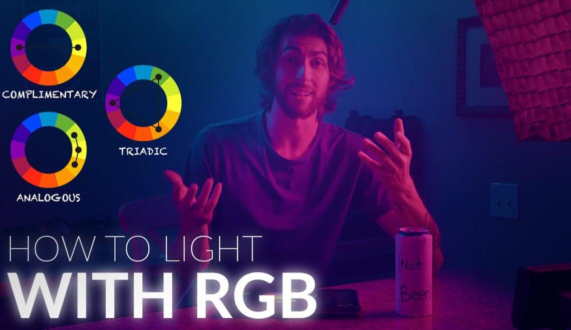 להאיר עם תאורת RGB