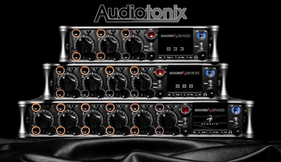 קבוצת Audiotonix רוכשת את Sound Devices